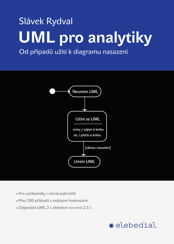 UML pro analytiky (obálka knihy)